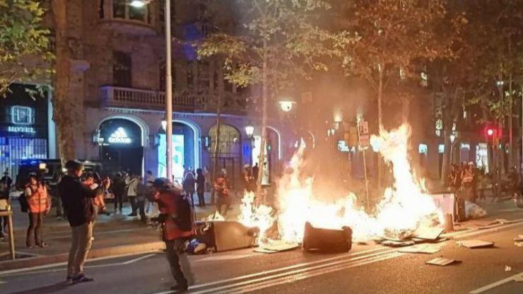 Un estudio destaca la 'preocupante' aparición de 'fenómenos organizados de guerrilla urbana' en España
