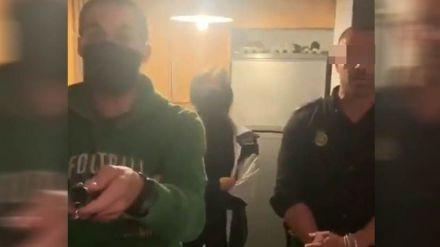 La Policía entra en un domicilio para parar una fiesta en pleno estado de alarma