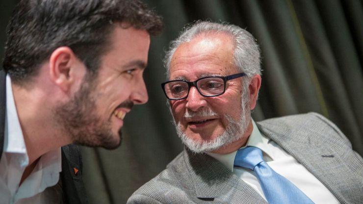 Alberto Garzón sobre la muerte de Julio Anguita: