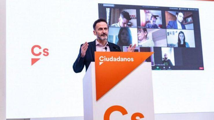 Edmundo Bal: 'Ciudadanos no va a apoyar una prórroga indefinida del estado de alarma' ni tampoco 'una de 30 días'