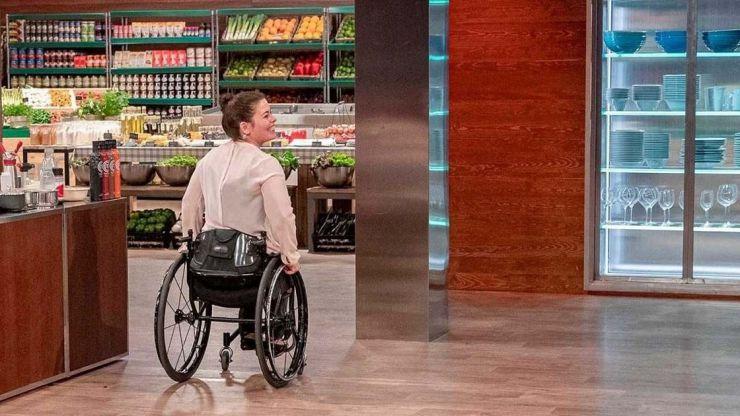 Sonsoles (MasterChef): 'Ya tocaba una persona con discapacidad en el concurso'