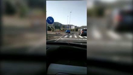 Conducción temeraria: Las redes sociales logran esclarecer un accidente que pudo haber terminado en tragedia
