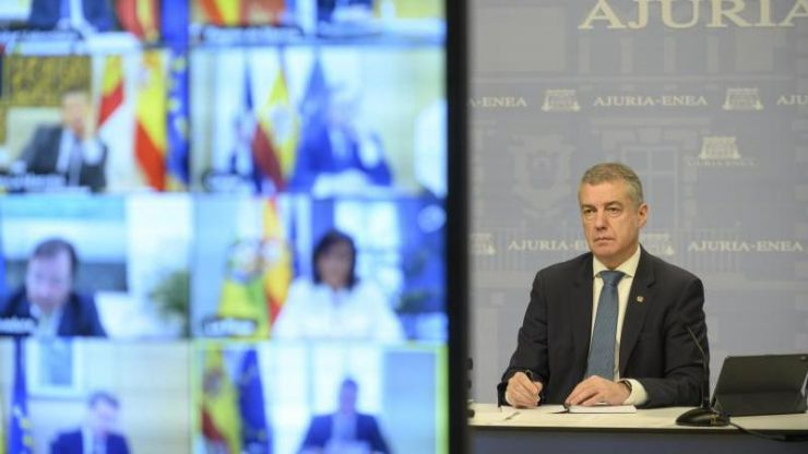 Urkullu reconoce que le desconcierta el acuerdo del POSE y Unidas Podemos con Bildu
