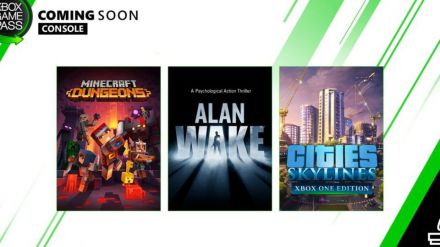 Próximamente en Xbox Game Pass: Minecraft Dungeons, Alan Wake, Cities: Skylines y más
