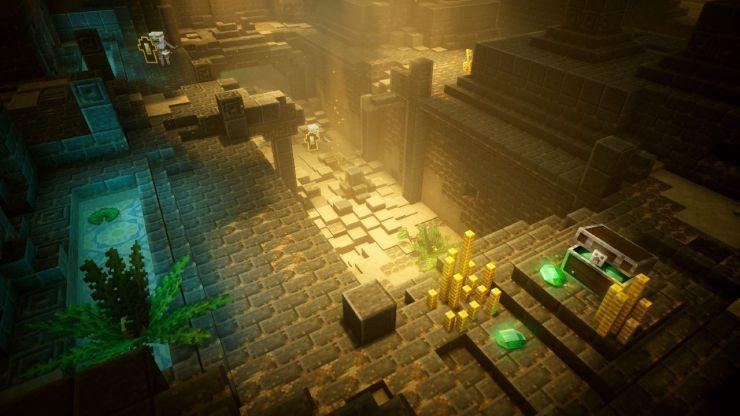 Ya disponible 'Minecraft Dungeons'