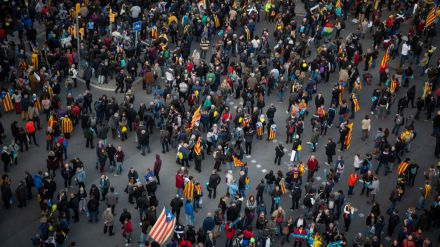 'Escamots de foc' llama a la lucha armada en Cataluña