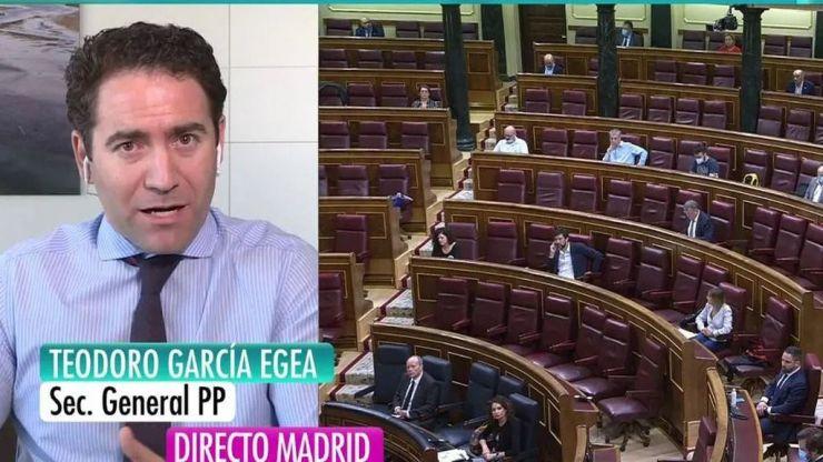 García Egea carga contra el Gobierno: 'Está más preocupado por tapar algo relativo al 8M que por mantener los empleos de Nissan'
