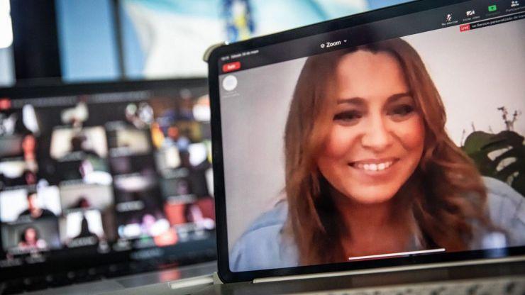 Edmundo Bal y Beatriz Pino reúnen a decenas de afiliados gallegos en un nuevo 'Café Telemático' de Cs