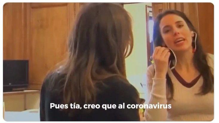 Filtran un vídeo de Irene Montero el 9-M: 'La bajada de cifras el 8-M fue debido al coronavirus, pero no lo voy a decir...'
