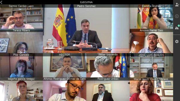 Sánchez pide a la Ejecutiva del PSOE no caer en las provocaciones de la derecha