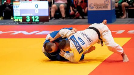Borja Pahissa, judoka paralímpico: