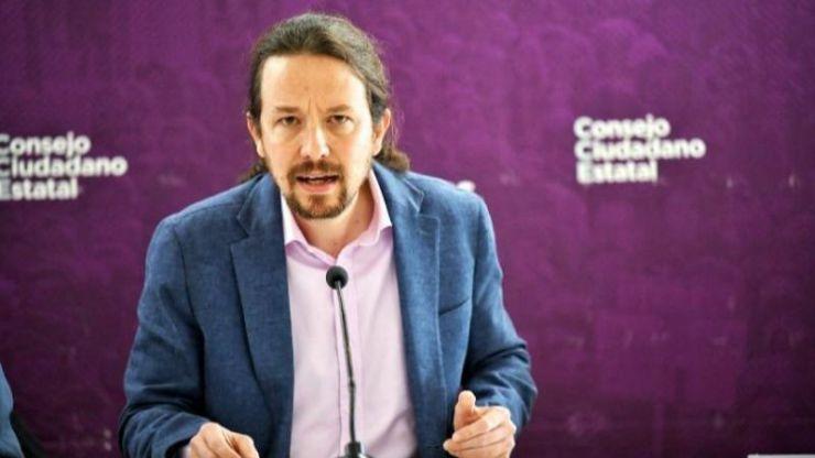 Iglesias acusa a PP y Vox de generar