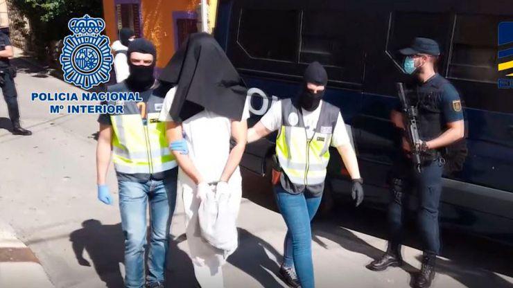 La Policía detiene en Madrid a un miembro del aparato financiero de DAESH