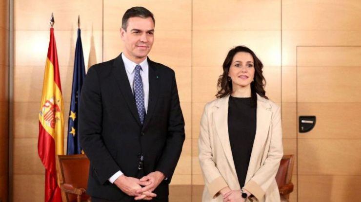 El Gobierno agradece a Ciudadanos su apoyo en la pandemia dándole la primera cita en Moncloa este viernes
