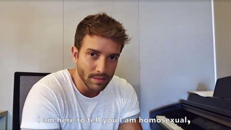 Pablo Alborán confiesa su homosexualidad:
