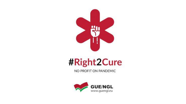 Unidas Podemos se suma al #Right2Cure para que la vacuna contra el Covid-19 sea universal y gratuita