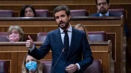 Casado pide que quienes siguen sin condenar los asesinatos de ETA no sean 'clave' para quitar o poner gobiernos