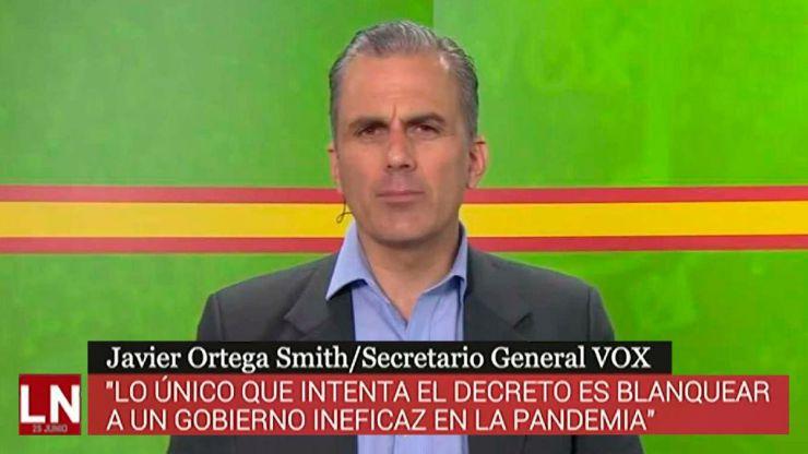 Ortega Smith: 'VOX no puede apoyar a un Gobierno que ha dejado atrás a los españoles'