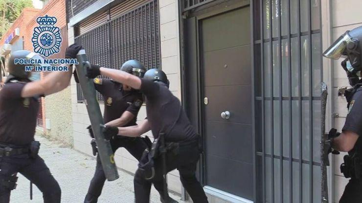 Cae un grupo criminal itinerante dedicado a la comisión de robos con fuerza en oficinas y comercios