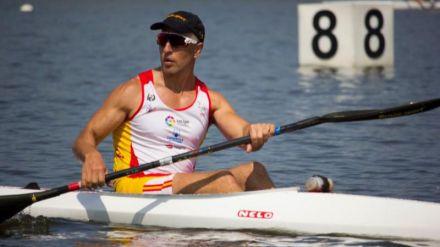 Juan Antonio Valle, piragüista paralímpico: 'Me fijo mucho en la técnica de Saúl Craviotto'