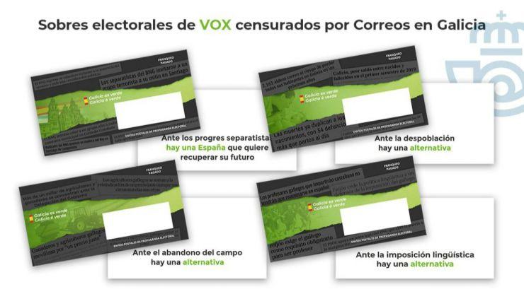 12-J: La JEC da la razón a Vox en el caso del 'secuestro' de los sobres electorales en Galicia y País Vasco