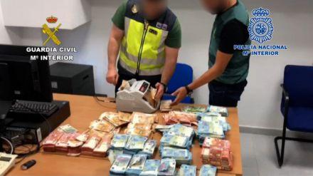 Cae una peligrosa organización criminal dedicada al tráfico de hachís a nivel internacional