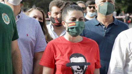 Macarena Olona en Oñate: 'Cachorros de ETA, no os tenemos miedo y no nos vamos a rendir'