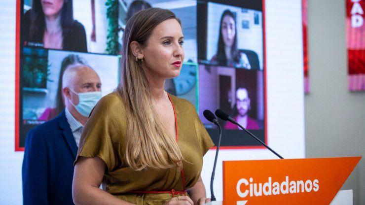 Melisa Rodríguez (Cs): 'El Gobierno del PSOE puede mirar al centro para evitar que los nacionalistas sigan creciendo'