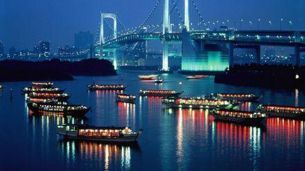Descubriendo Tokio: La ciudad muestra todo su esplendor al caer el sol