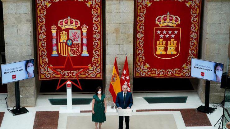 Nuevo rifirrafe entre Madrid y Sanidad por el número de asintomáticos