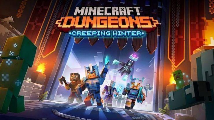 Invierno espeluznante no llegará a Minecraft Dungeons hasta el 8 de septiembre