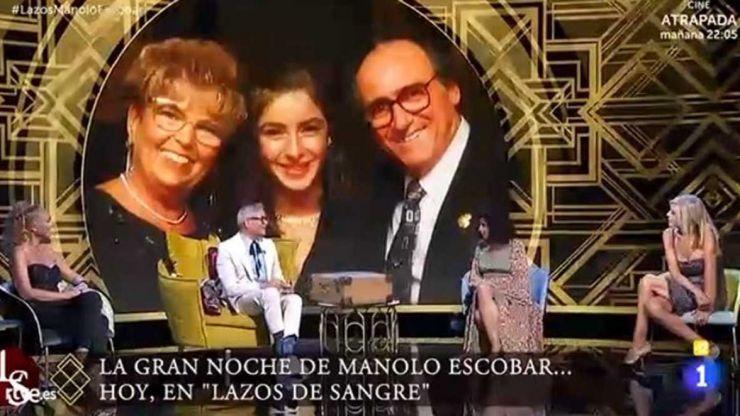 Manolo Escobar acapara el prime time y eleva al liderato a 'Lazos de sangre'