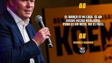 Así es Ronald Koeman, el nuevo entrenador del FC Barcelona