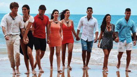 Los participantes de la primera y exitosa edición de La Isla de las Tentaciones