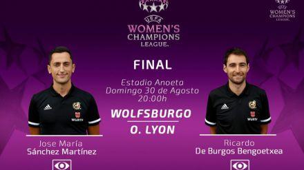 La final de la Champions femenina, también con VAR español