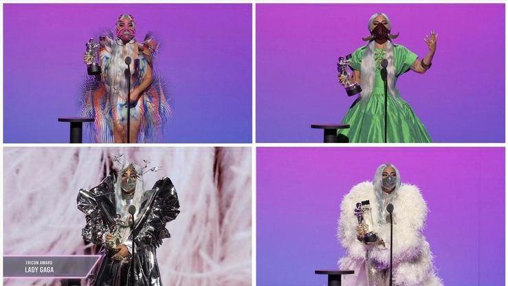 El gran despliegue de postproducción salva los MTV VMAs 2020 con Lady Gaga y BTS como protagonistas