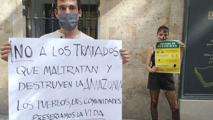 Organizaciones sociales y ambientales claman en defensa de la Amazonía