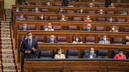 Sánchez defiende a sus socios de Gobierno frente al PP: 'Unidas Podemos cumple con la Constitución y ustedes no'
