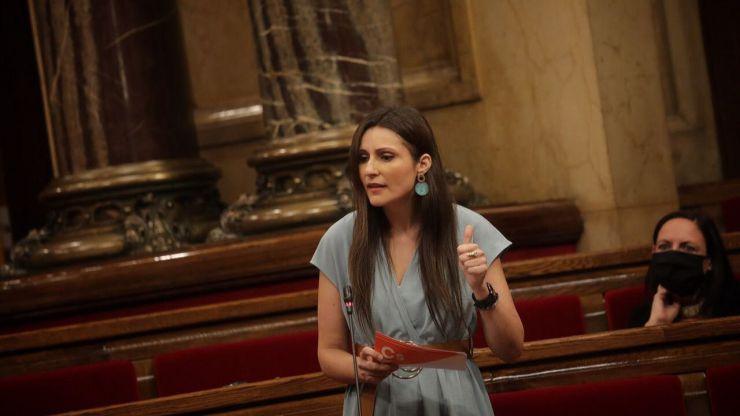 Lorena Roldán ha pedido a Quim Torra que abandone el cargo antes de su 'tour judicial'