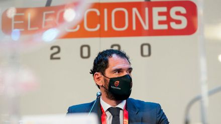 Jorge Garbajosa es reelegido como Presidente de la FEB