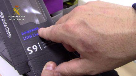 Intervenidos en Cobo Calleja más de 13.100 artículos de telefonía falsificados