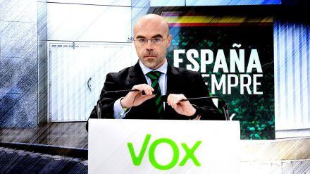 Buxadé insta a los diputados a elegir entre 'el Gobierno de los 53.000 muertos o dar voz a los españoles'
