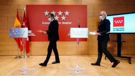 Madrid acata la Orden de Sanidad y desvela las nuevas restricciones