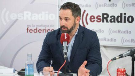 Abascal: 'El Gobierno demoniza a Vox para justificar sus pactos con Bildu'