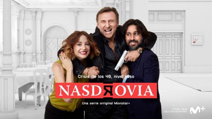 Ya tenemos las primeras imágenes de 'Nasdrovia', la nueva serie original de Movistar+