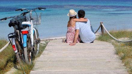 Quién dijo que las bicicletas son solo para el verano
