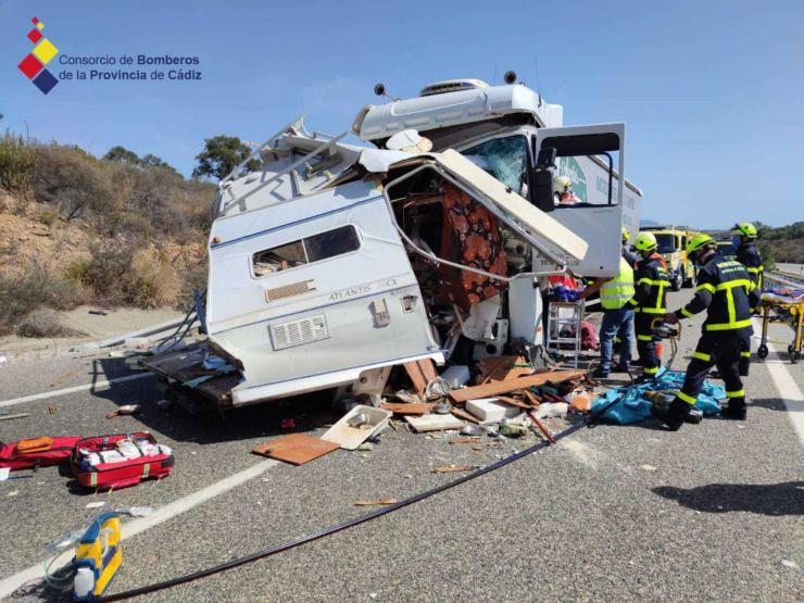 Nuevo caso de violencia de género: Llevaba el cadáver se su mujer como copiloto cuando tuvo un accidente