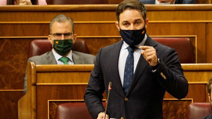 Abascal a Sánchez: 'Suba a esa tribuna, pida perdón a los españoles y márchese de una vez'
