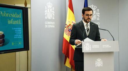Garzón desgrana su plan integral para fomentar la alimentación saludable
