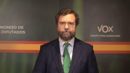 CGPJ: Vox reclama en el Congreso el retorno al sistema de elección de 1980